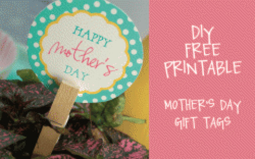 Mother S Day Tags: Printable Gift Tags
