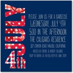 july 4 bbq invite