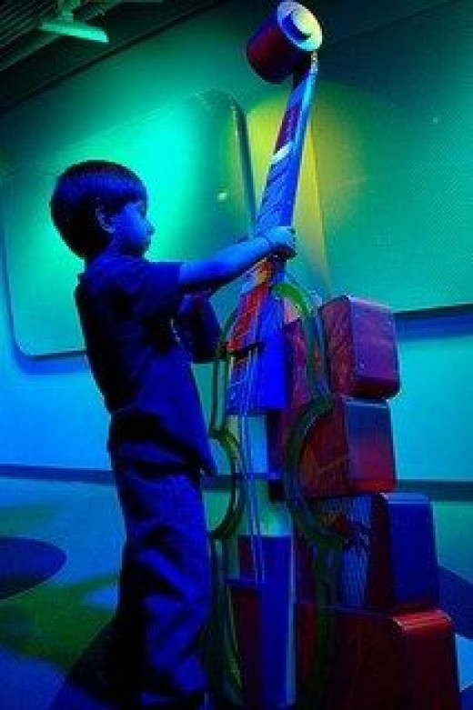 Making music at the (free!) Sony Wonder Lab