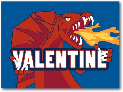 dragon valentines for boys