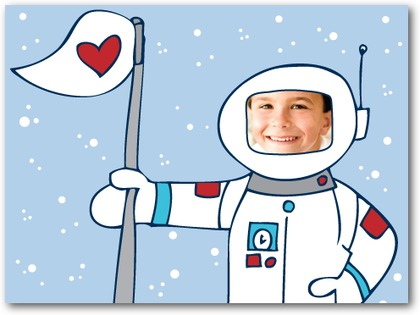 astronaut valentines for boys