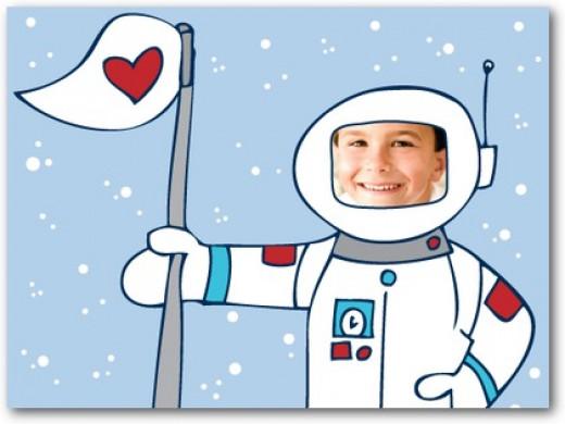 astronaut valentines for boys
