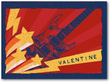guitar valentines for boys