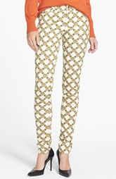 patterned skinny cords