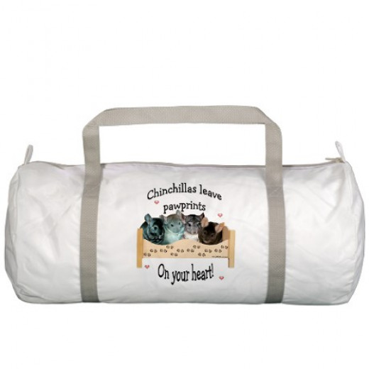 Gym Bag - They leave pawprints on your heart!
