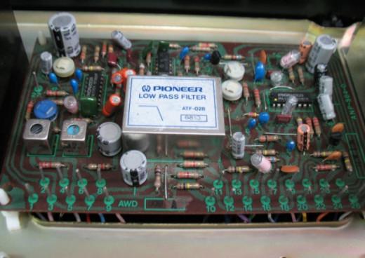 Pioneer TX-9500 II Tuner Inside Picture