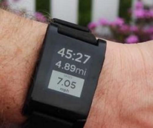 Pebble Bluetooth Watch