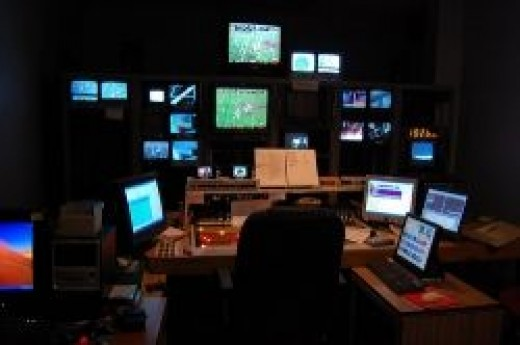 Small TV Station - Behind the Scenes