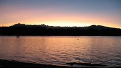 Sunset, Hood Canal, Washington State