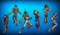 Retro Sci-Fi looks (courtesy of championsonline.wikia.com)
