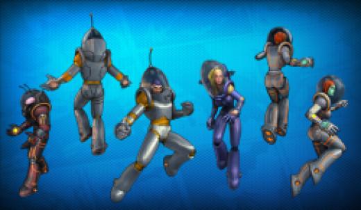 Retro Sci-Fi looks (courtesy of championsonline.wikia.com)
