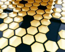 Honeycomb structure (courtesy PortWallpaper.com)
