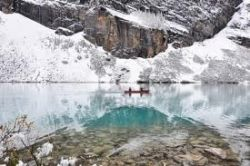cold waters winter kayaking