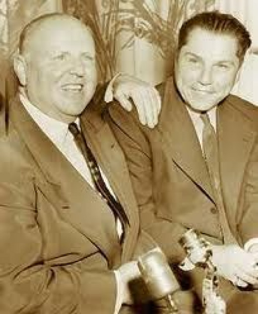 Dave Beck and Jimmy Hoffa