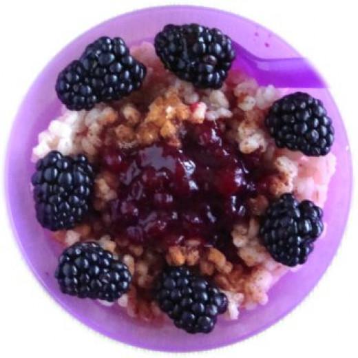 Barley Berry Porridge