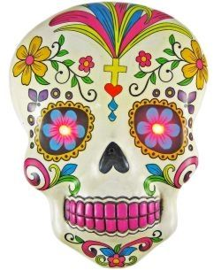 Day of the Dead LED Mask