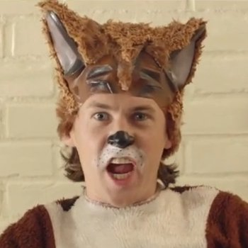 The Fox from The Fox Video by Ylvis. Screen Shot from YouTube.