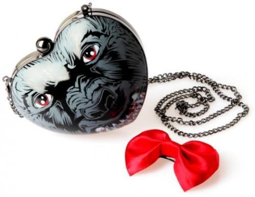 You Ripped My Heart Out Werewolf Heart Bag