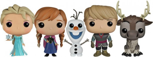 Frozen Funko Pop! Collection