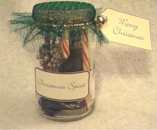 Christmas Spirit Jar by Kirsti A. Dyer