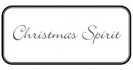 Christmas Spirit Label by Kirsti A. Dyer