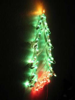 Christmas Light Tree by Nieve44
