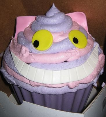 Giant Cheshire Cat Cupcake Cake by Kristin Ausk