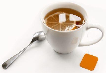 Tea with Orange.