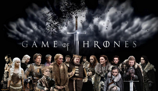 Get yourself some Game of Thrones wall paper like this one.  You can find it at  www.gameofthroneswallpaper.com