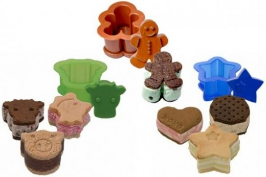 Assorted Ice Cream Sandwich Makers available from Amazon