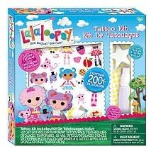 Include Some Temporary Tattoos In Your Lalaloopsy Party Ideas, Girls Just Love Temporary Tattoos!    These Tattoos Are Always A Hit At A Girl's Birthday Party!