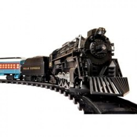 The Lionel Polar Express Train Set (G Gauge) is the perfect addition to your holiday Christmas decorations.  Photo Credit:  Amazon