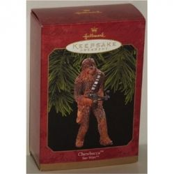 Here's The Chewbacca Star Wars Ornament Waiting To Decorate Your Tree.  The picture is from Amazon and you can find this ornament on this page.