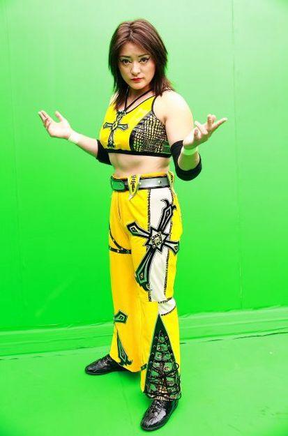 Former TNA Knockout, Ayako Hamada