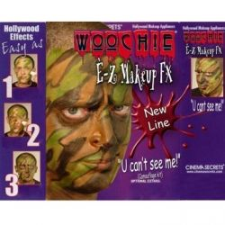 Easy Camouflage Face Paint Kit For Camo Parties Or Halloween Fun