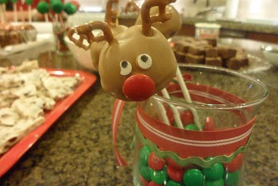 Look at the cake pops you can make using some M&M's and pretzels ... plus some cake pop sticks and chocolate melting wafers.  Find out how to make these cute pops for your holiday celebration.  Check them out at http://smithalicious.blogspot.com