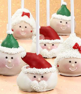 Get ideas on how to make these fab Santa cake pops or buy them from Proflowers.com