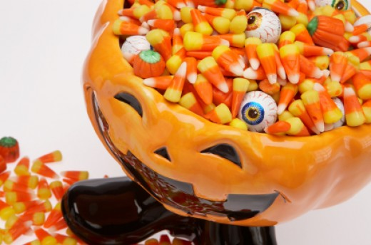 Halloween Eyeball Candy is perfect for Trick or Treat Fun