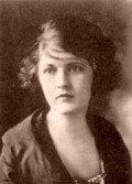 Zelda Fitzgerald - Flapper married to F. Scott Fitzgerald. 	This media file is in the public domain in the United States.