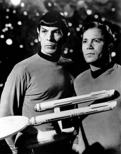 Mr Spock, Vulcan First Mate Of The Star Ship Enterprise