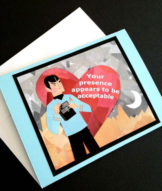 Star Trek - Spock Valentine's Day Card