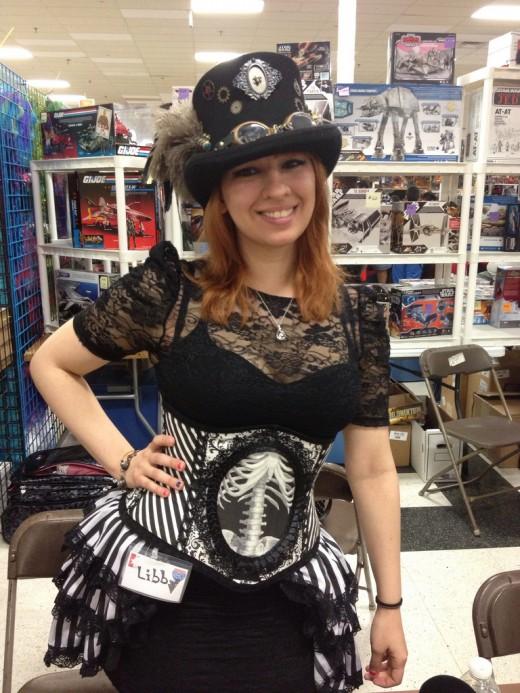 Steampunk Gal at Texas Comicon