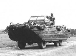 The Duck (DUKW) Vehicle From The 1940s