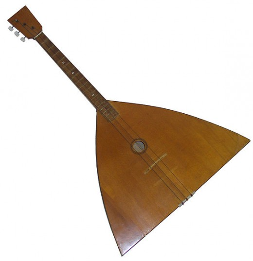The Balalaika is just one of the many instruments you can use to accessorize your Gypsy costume.