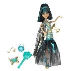 Monster High's Ghouls Rule Cleo de Nile Dolls Make Great Christmas And Birthday Gifts
