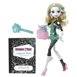 Lagoona Blue Is The Daughter Of The Sea Monster Is One Of The Students At Monster High.  The image is from Amazon and you can purchase Lagoona on this page.