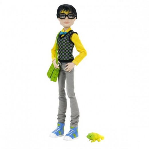 Here's Jackson Jekyll From Monster High.  This image is from Amazon and there's a link by the picture so you can find out more about Jackson.