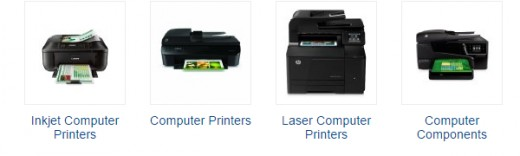 Find all the different printers to fit your business needs. Print out those invoices.