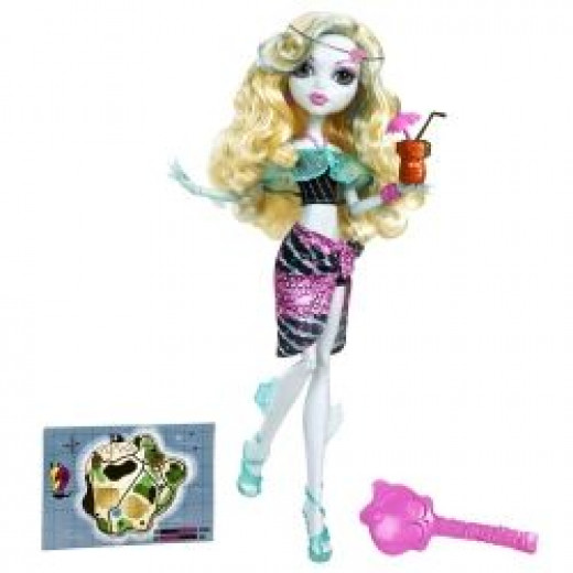Lagoona Blue From Monster High Is Venus McFlytrap's Best Friend.  This image is from Amazon and you can find it for sale on this page.