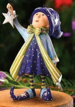 Here's The Krinkle's Star Elf Created To Stand By The Comet Dash Away Reindeer From Patience Brewster Collection.
